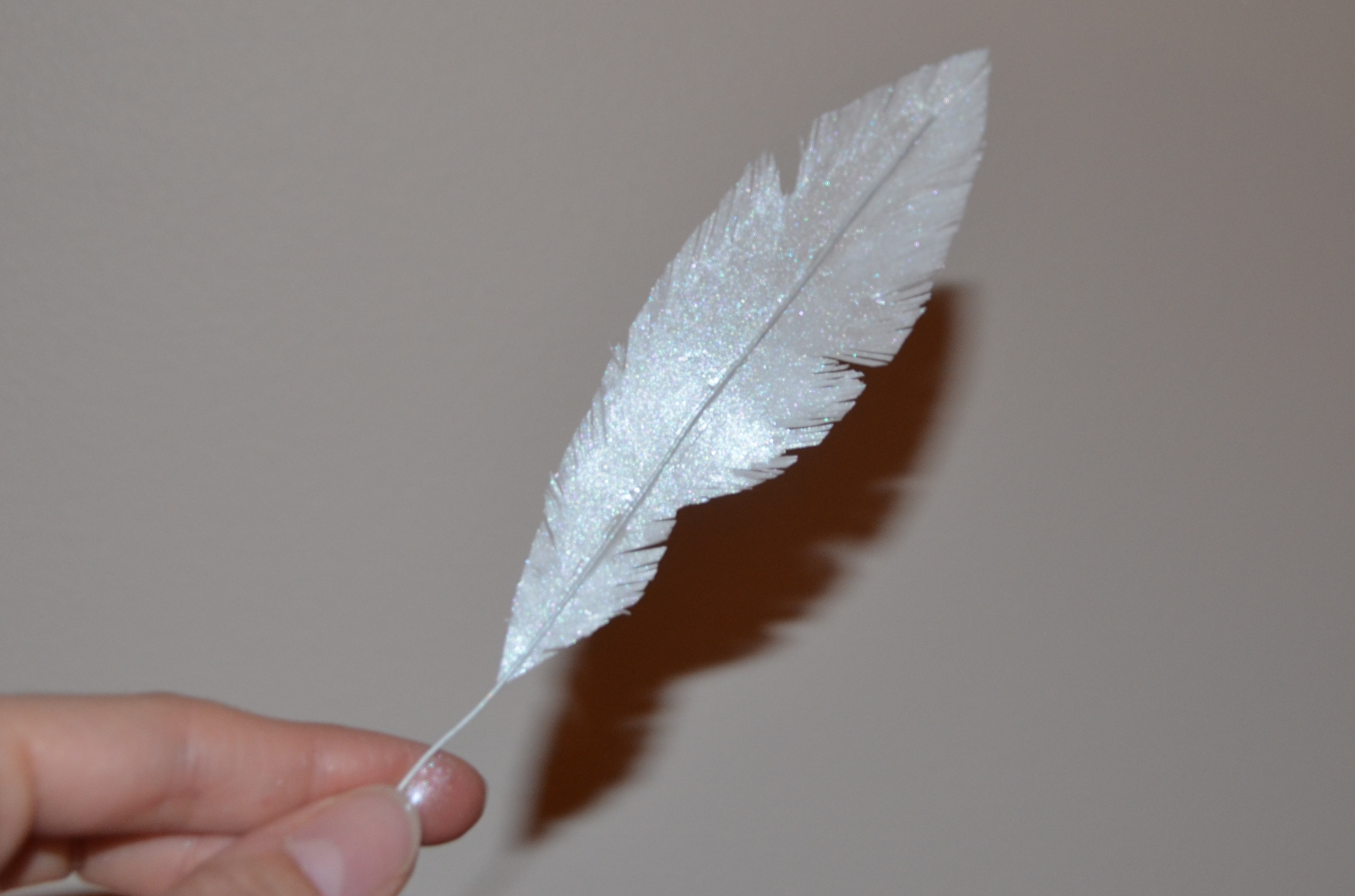 how to make realistic feathers